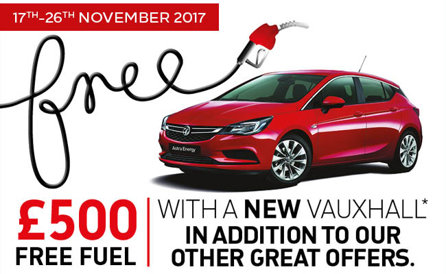 £500 Free fuel offer